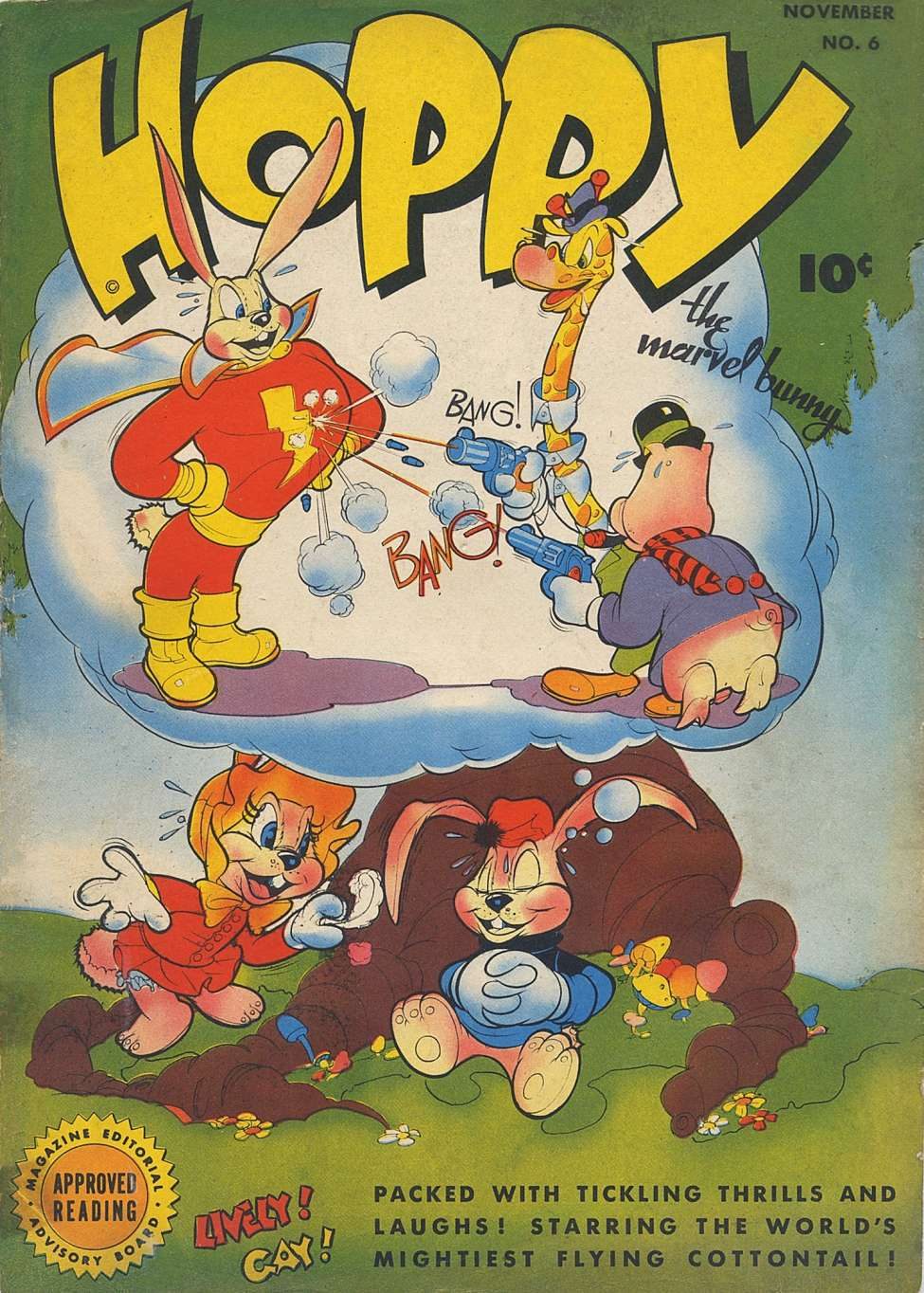 Comic Book Cover For Hoppy the Marvel Bunny #6