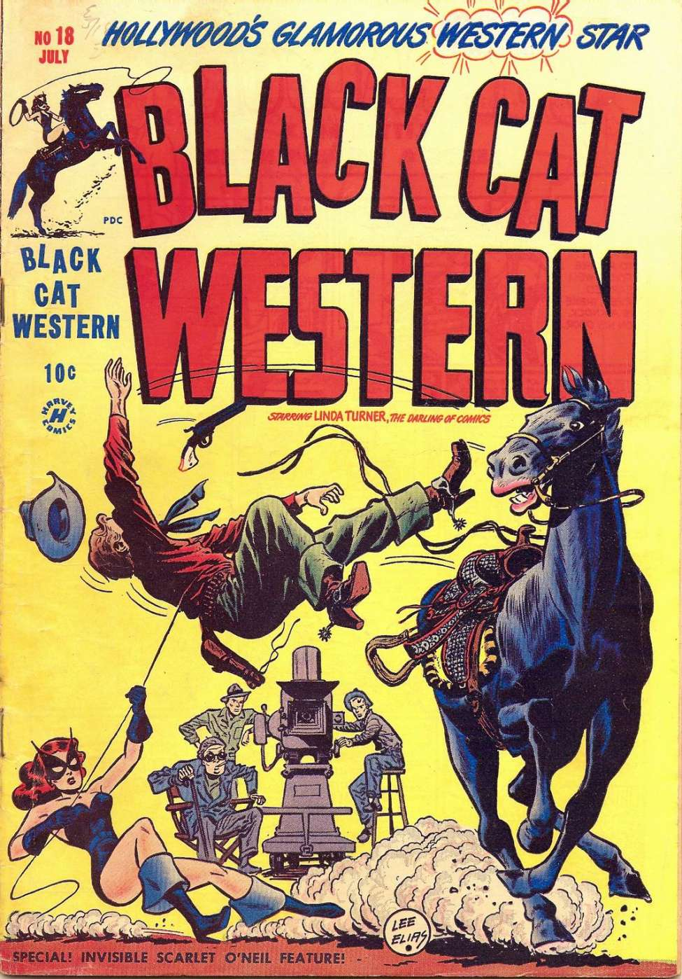Comic Book Cover For Black Cat #18