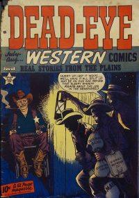 Large Thumbnail For Dead-Eye Western Comics v1 #5