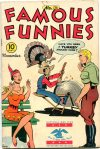 Cover For Famous Funnies 136