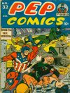 Cover For Pep Comics 32