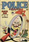 Cover For Police Comics 95