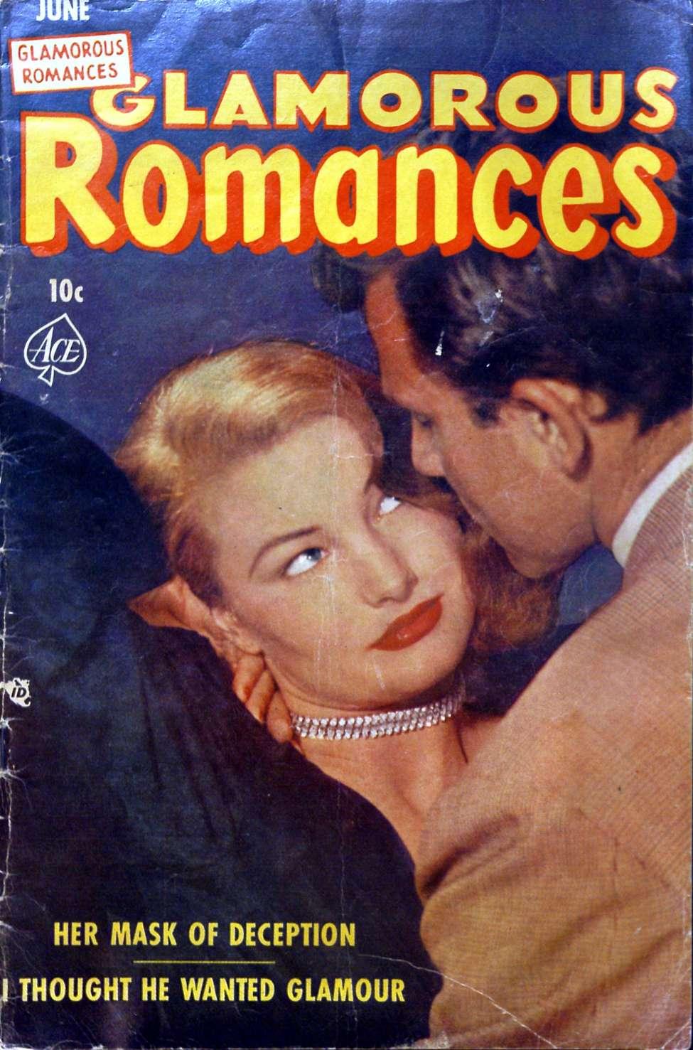 Comic Book Cover For Glamorous Romances #69