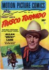 Cover For Motion Picture Comics 107 Frisco Tornado