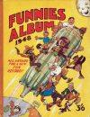 Cover For Funnies Album 1948 Part 1