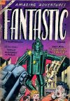 Cover For Fantastic Comics 11