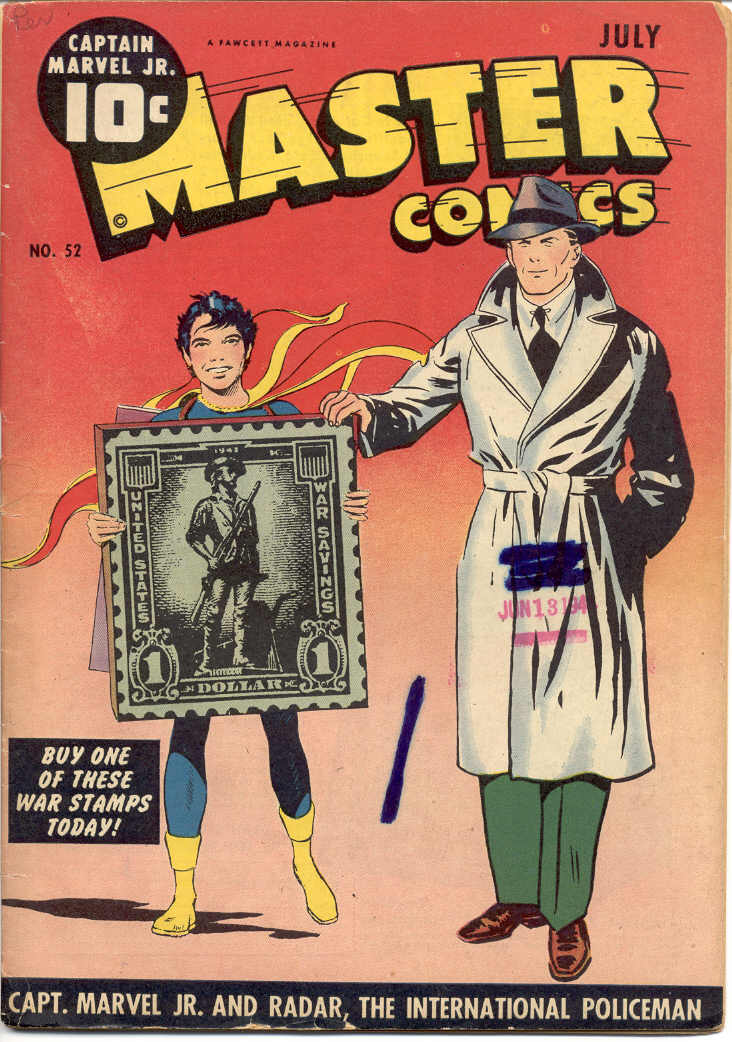 Comic Book Cover For Master Comics #52 - Version 1