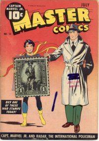 Large Thumbnail For Master Comics #52 - Version 1