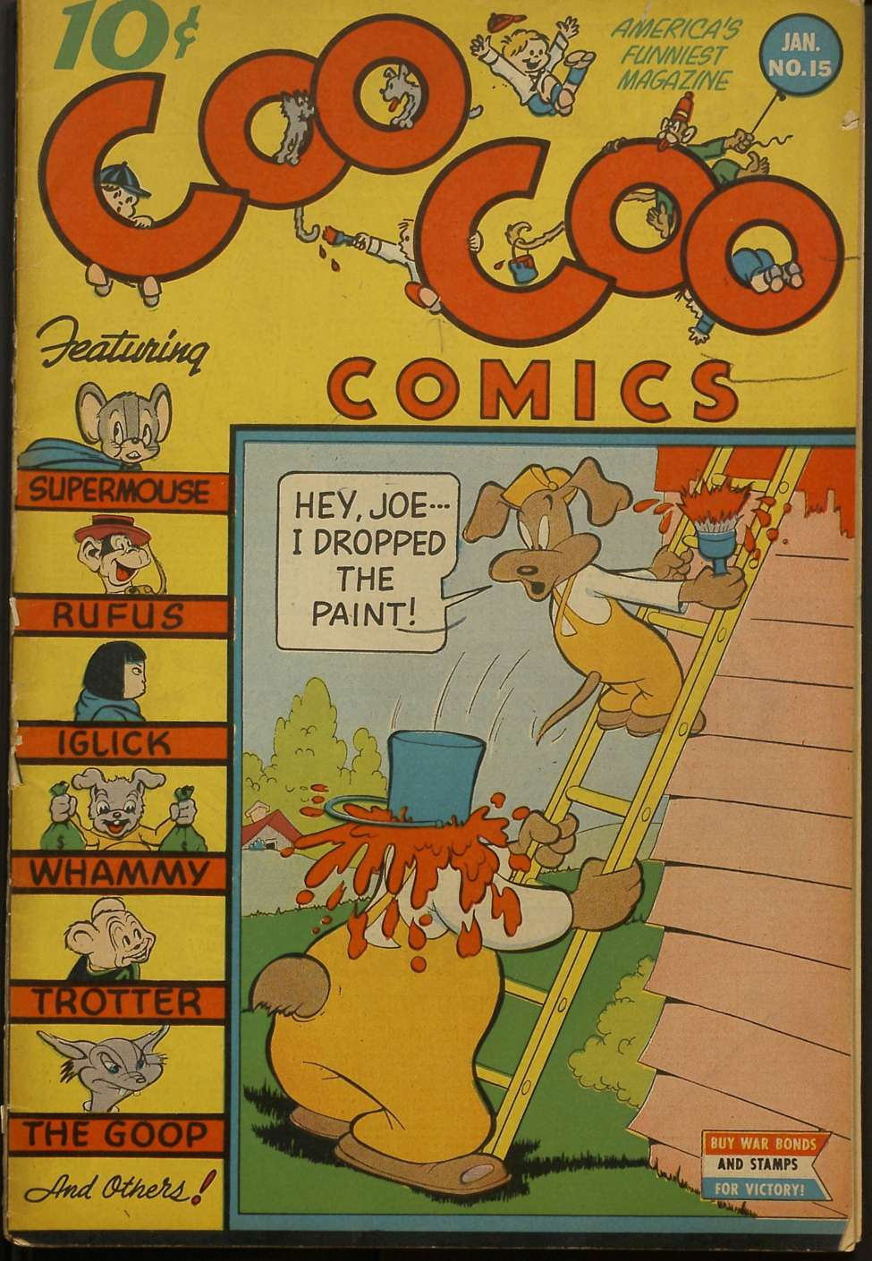 Comic Book Cover For Coo Coo Comics #15 - Version 2