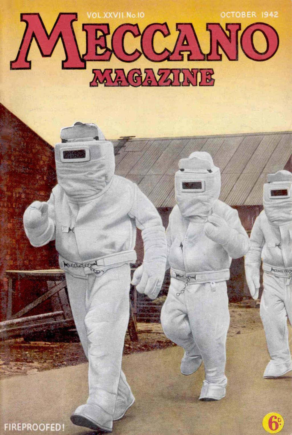 Comic Book Cover For Meccano Magazine v27 10
