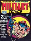 Cover For Military Comics 5