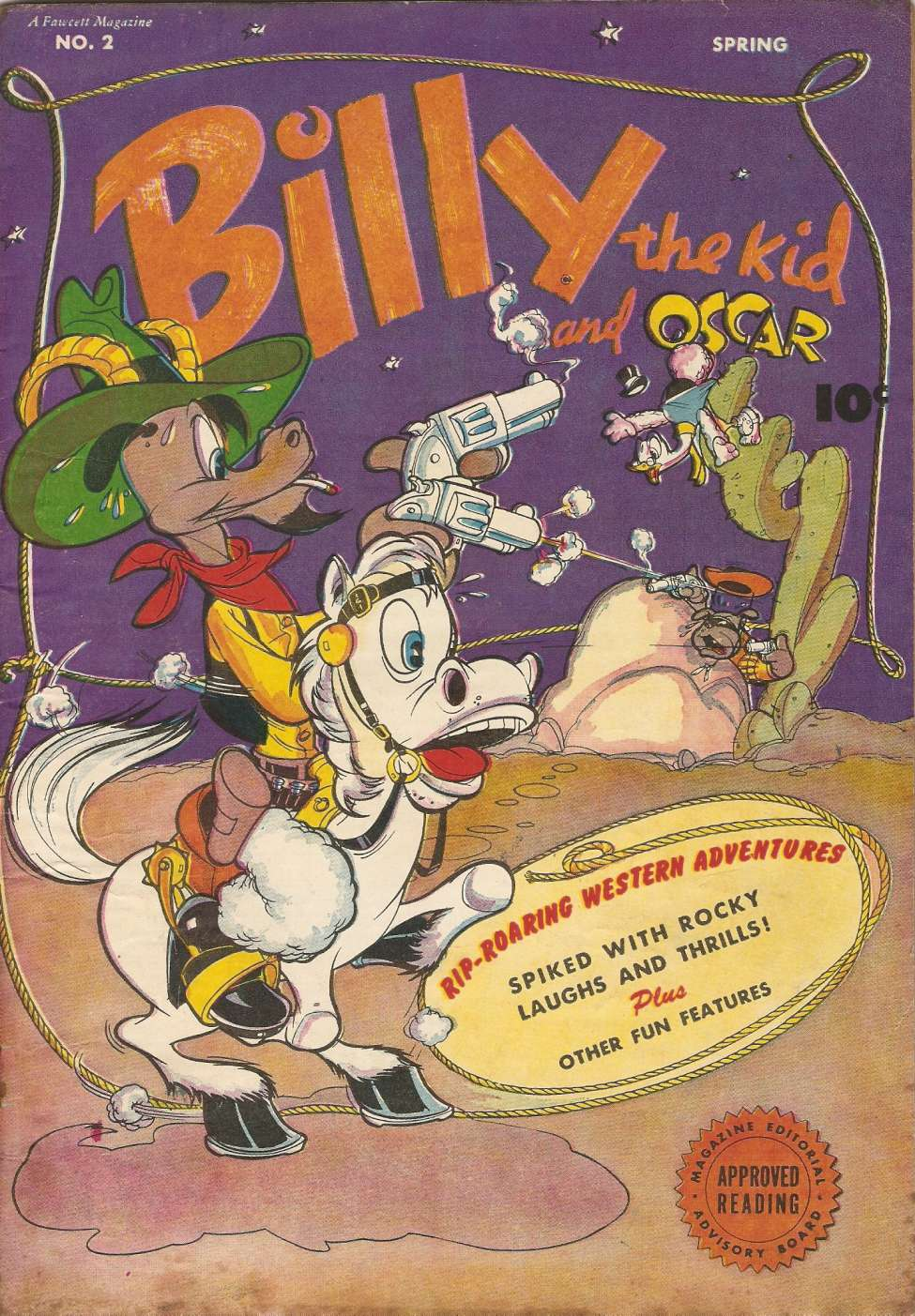 Comic Book Cover For Billy the Kid #2