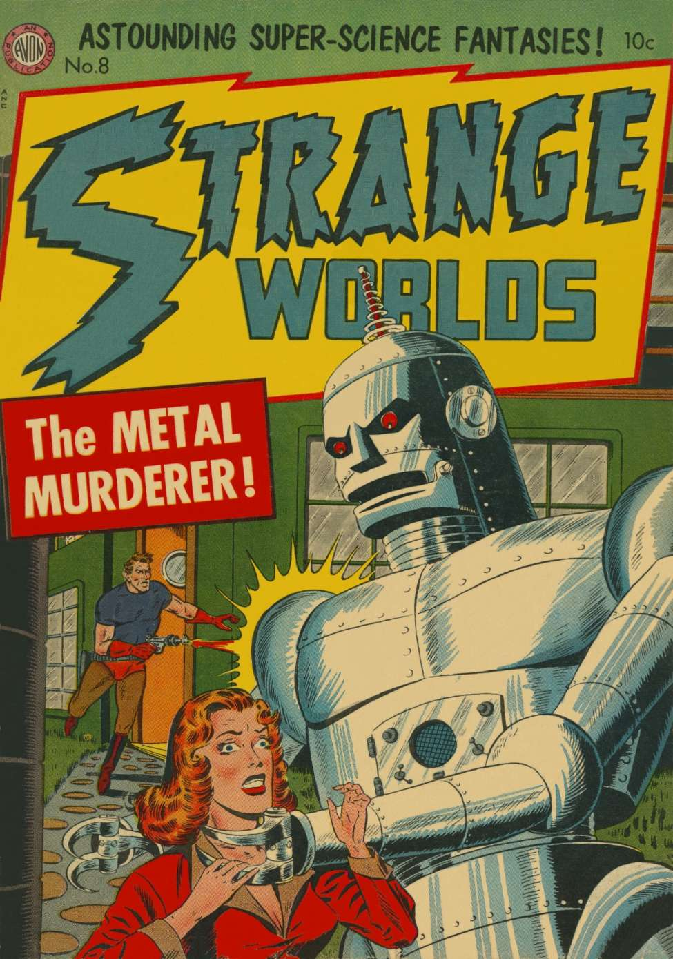 cover letter books%0A Comic Book Cover For Strange Worlds