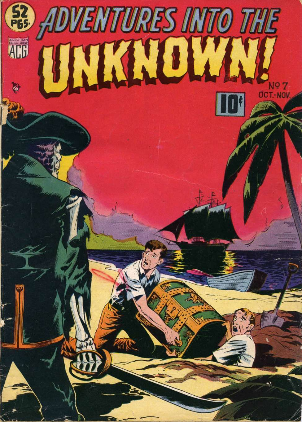 Comic Book Cover For Adventures into the