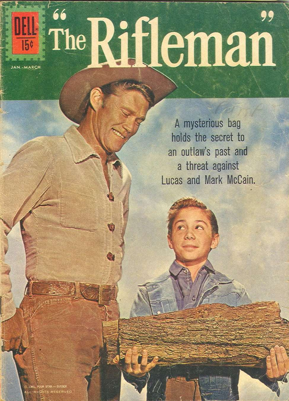 Comic Book Cover For The Rifleman 10