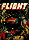 Cover For Captain Flight Comics 11