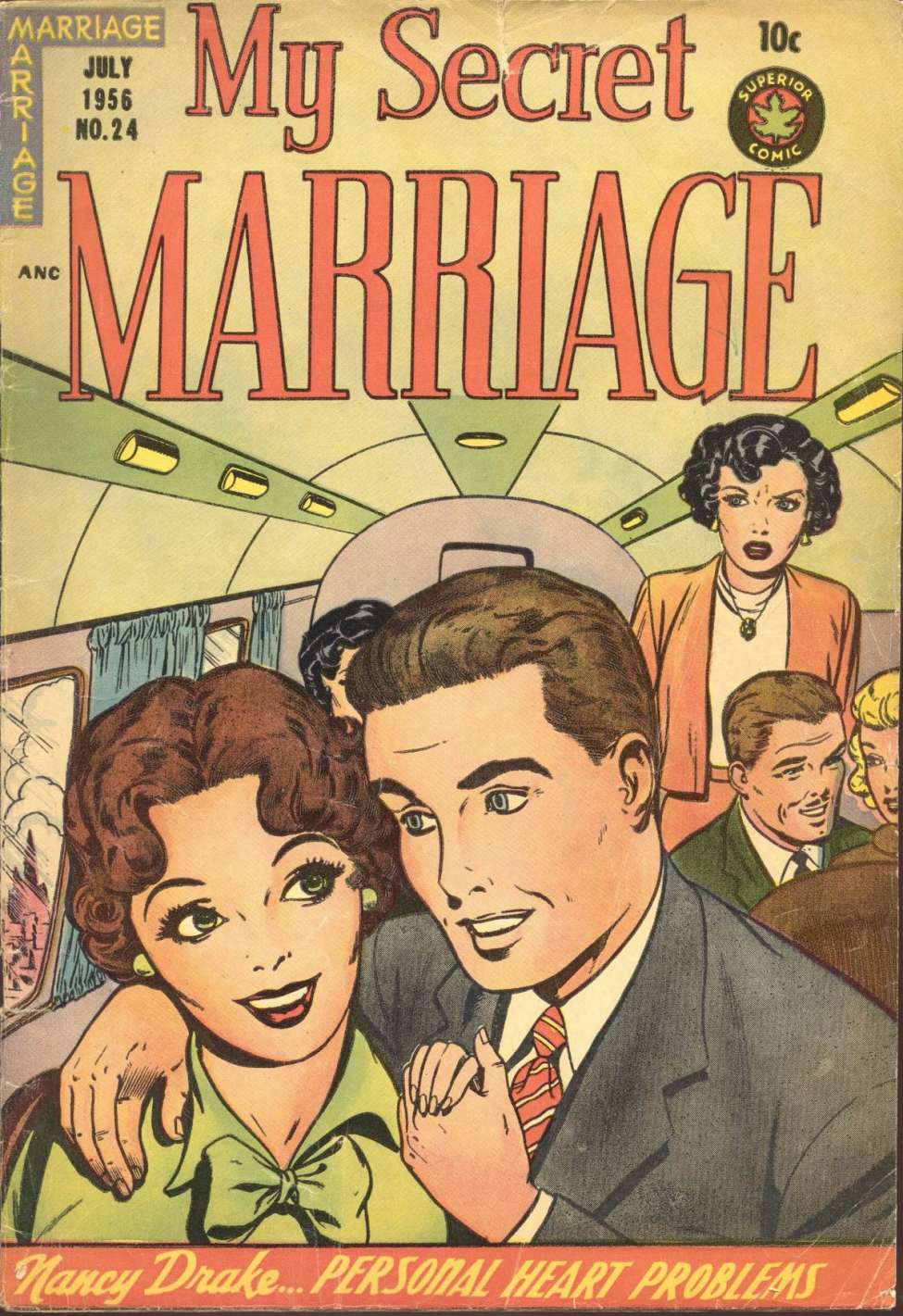 Comic Book Cover For My Secret Marriage #24