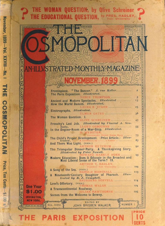 Comic Book Cover For The Cosmopolitan v28 01