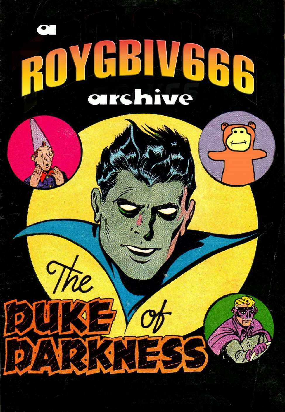 Comic Book Cover For Duke Of Darkness Collection ver 2 -fixed