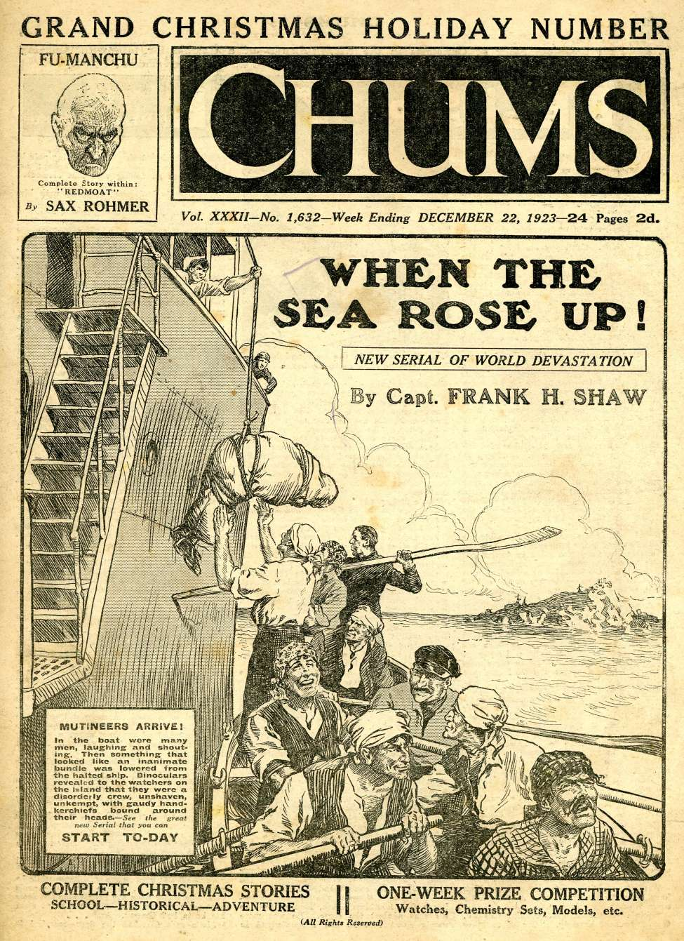Comic Book Cover For Chums v032 1632