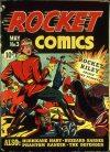Cover For Rocket Comics 3