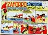 Cover For Zamorro 76 Sabotatore Misterioso
