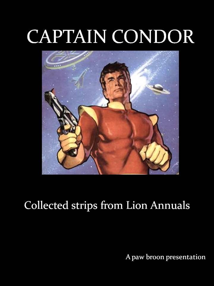 Comic Book Cover For Captain Condor in Lion Annual