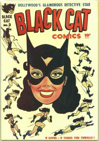 Large Thumbnail For Black Cat #2