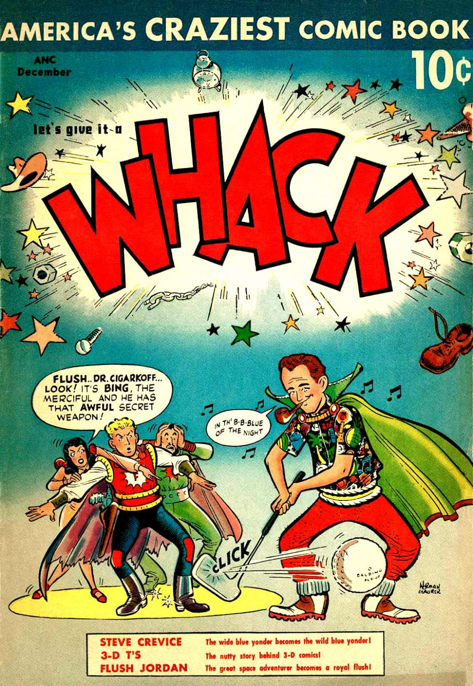 Comic Book Cover For Whack #2