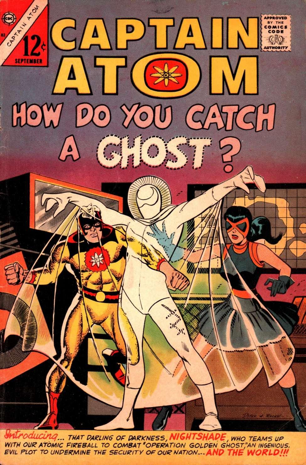 Comic Book Cover For Captain Atom #82