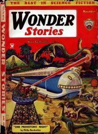 Large Thumbnail For Wonder Stories v6 06 - Dawn to Dusk - Eando Binder
