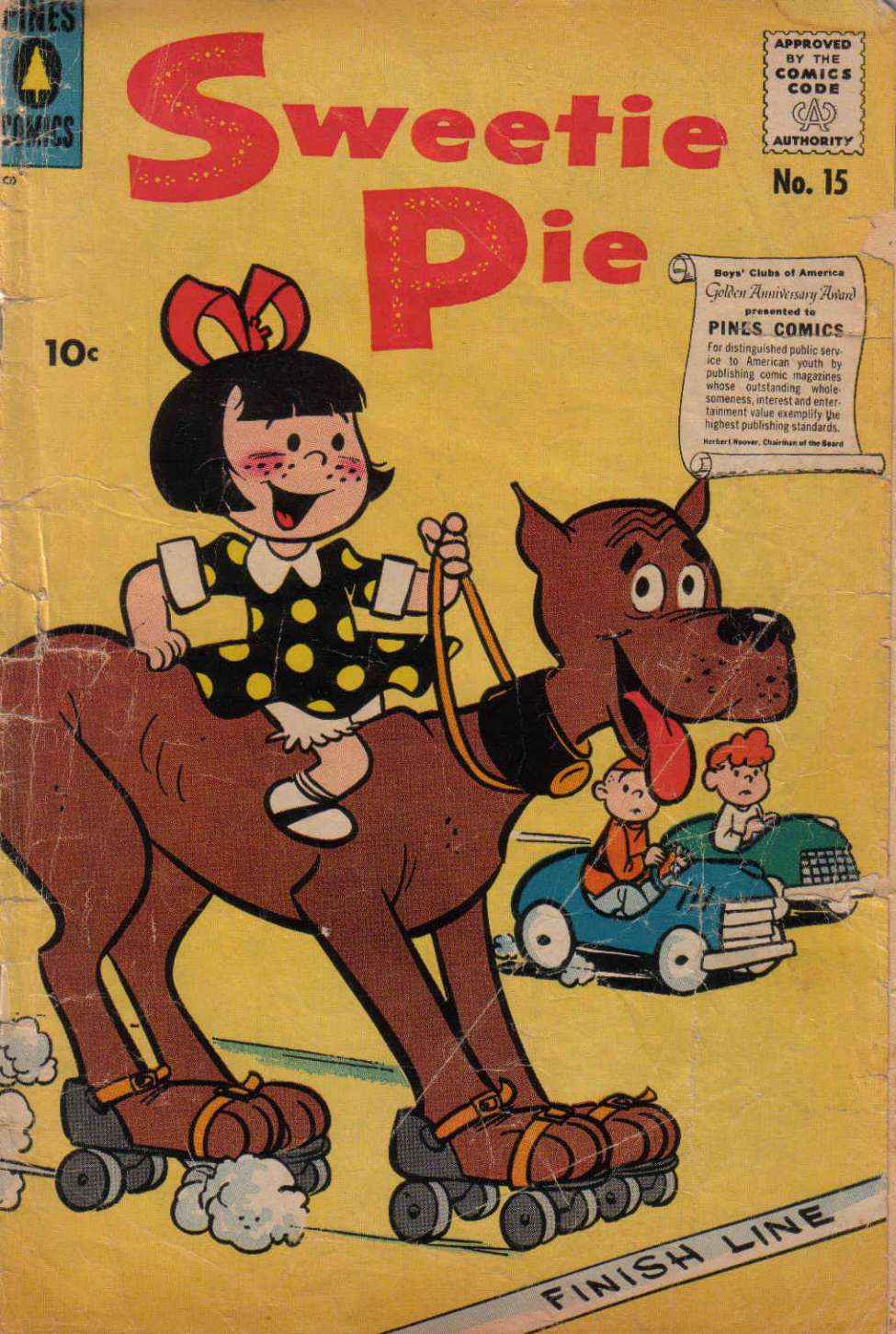 Comic Book Cover For Sweetie Pie #15