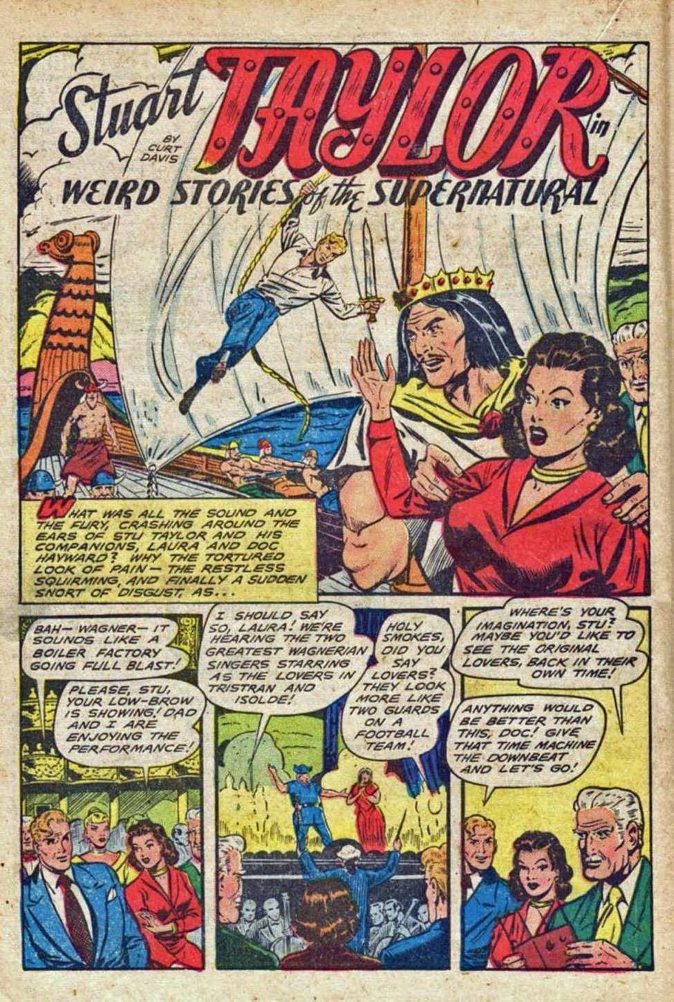 Comic Book Cover For Weird Stories of the Supernatural Archives Vol 14