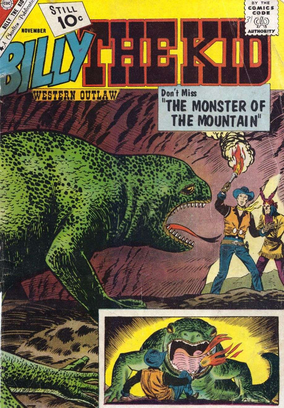 Comic Book Cover For Billy the Kid #31