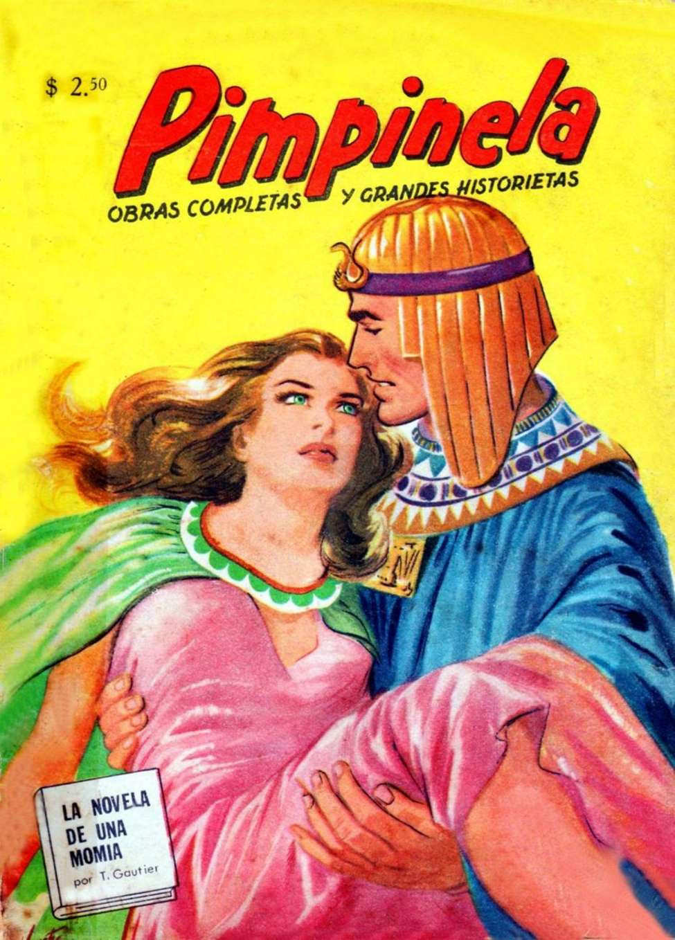 Comic Book Cover For Pimpinela 100