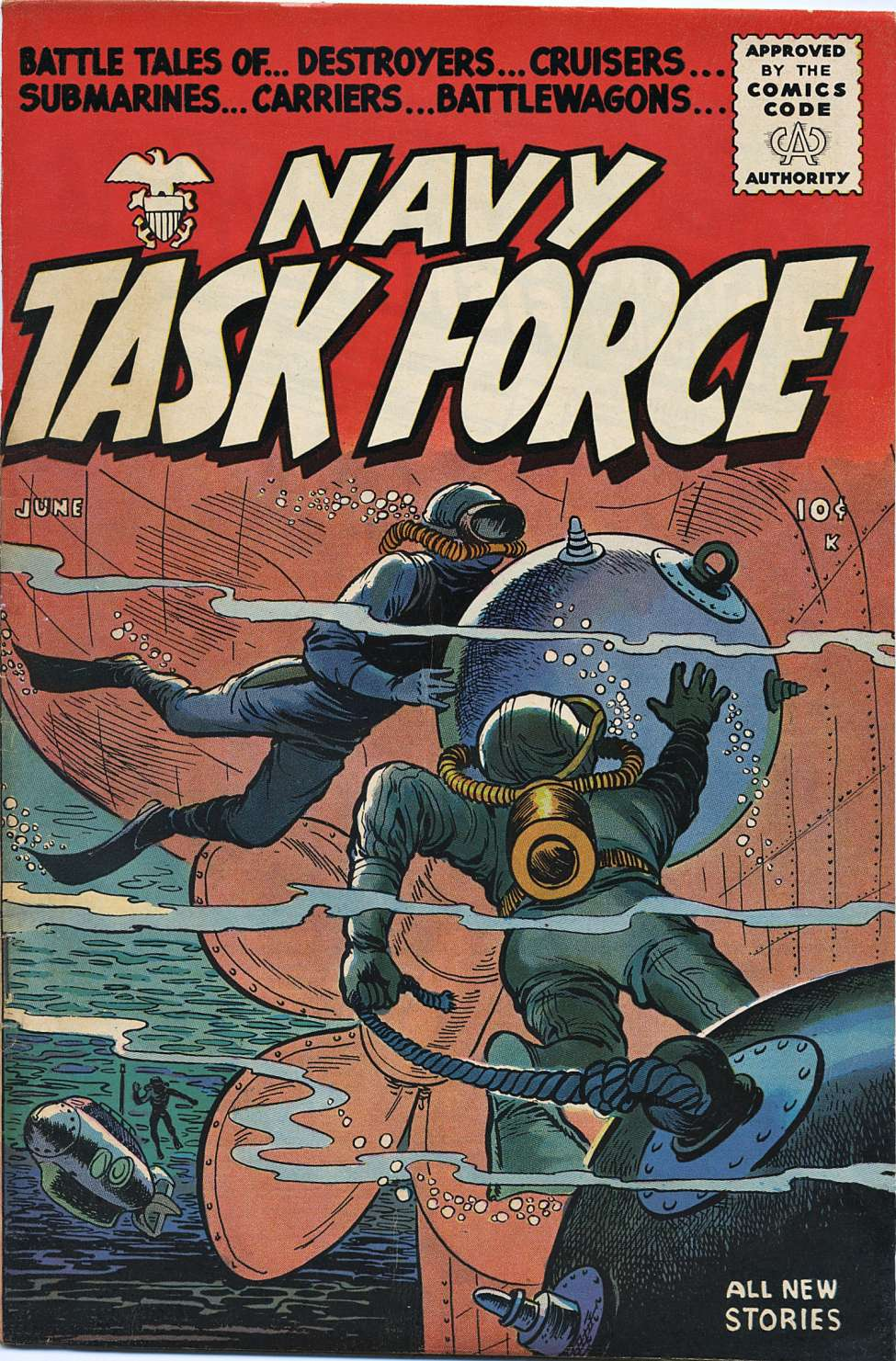 Comic Book Cover For Navy Task Force #4