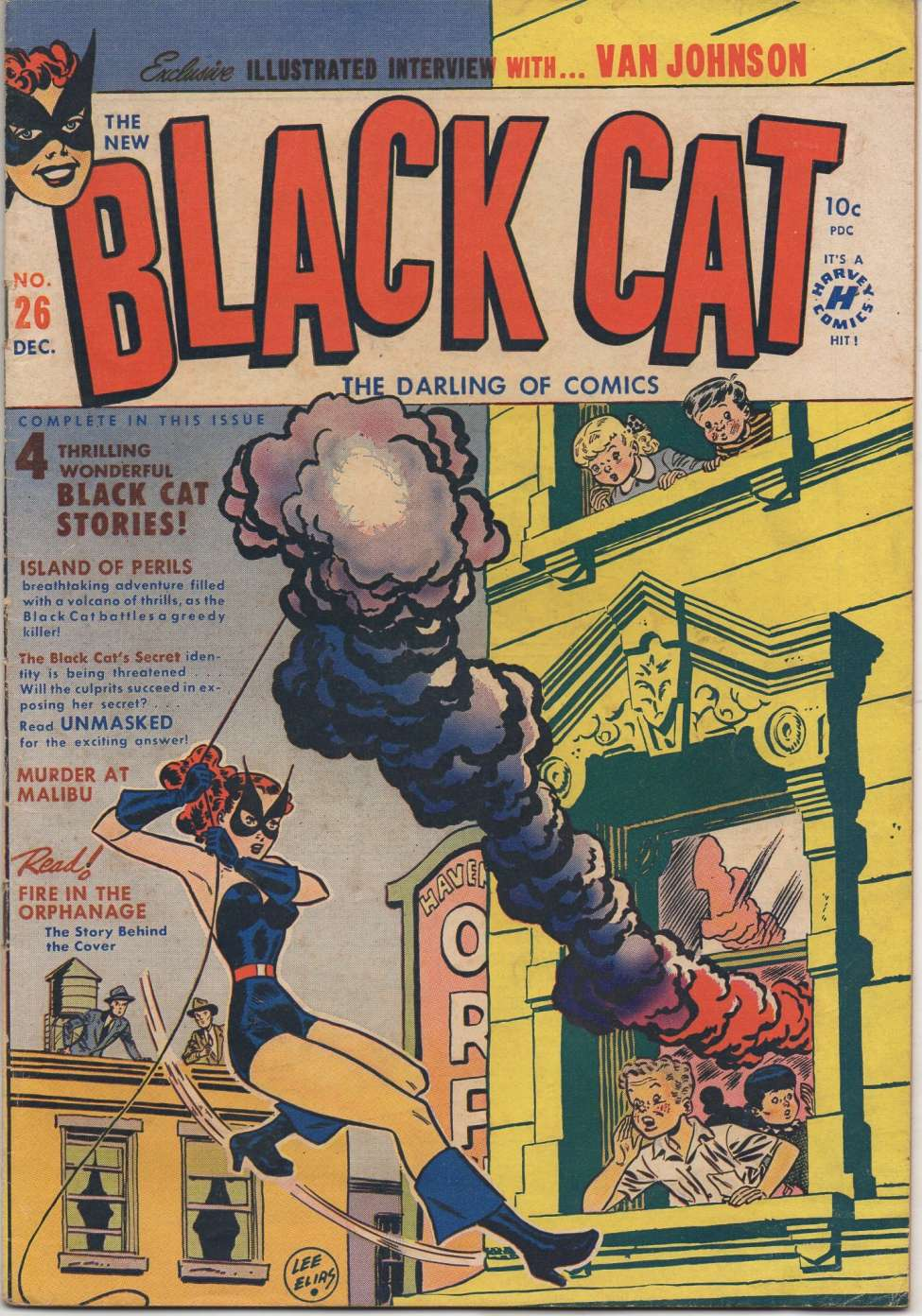 Comic Book Cover For Black Cat #26 - Version 2