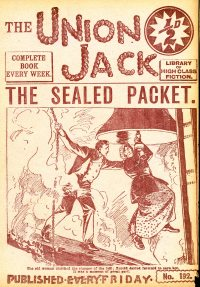 Large Thumbnail For The Union Jack 192 - The Sealed Packet