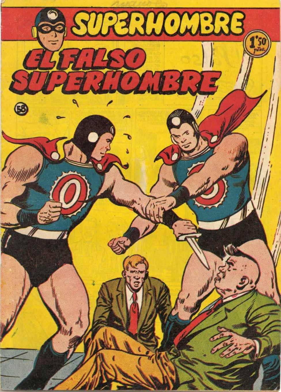 Comic Book Cover For SuperHombre 58 El falso SuperHombre