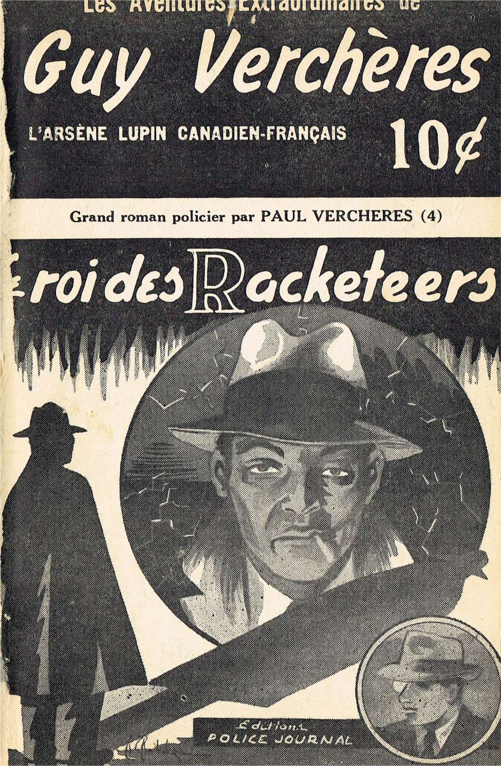Comic Book Cover For Guy Verchères v2 04 - Le roi des racketeers
