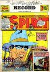 Cover For The Spirit (1940 9 8) Philadelphia Record