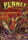 Cover For Planet Stories v1 8 Vassals of the Master World Eando Binder