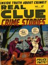 Cover For Real Clue Crime Stories v6 9
