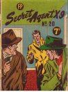 Cover For Secret Agent X9 20