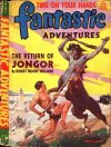 Cover For Fantastic Adventures v6 2 The Return of Jongor Robert Moore Williams