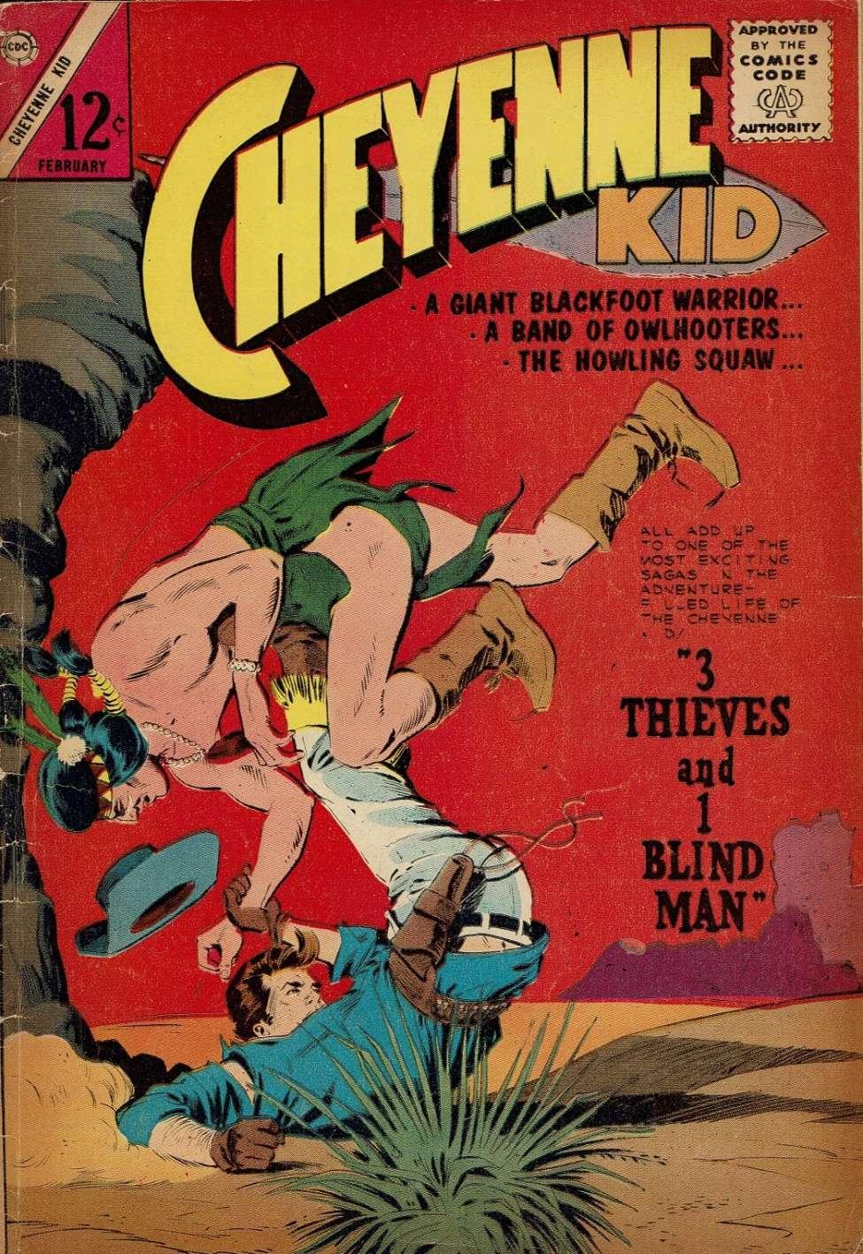 Comic Book Cover For Cheyenne Kid #44