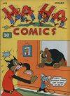 Cover For Ha Ha Comics 2