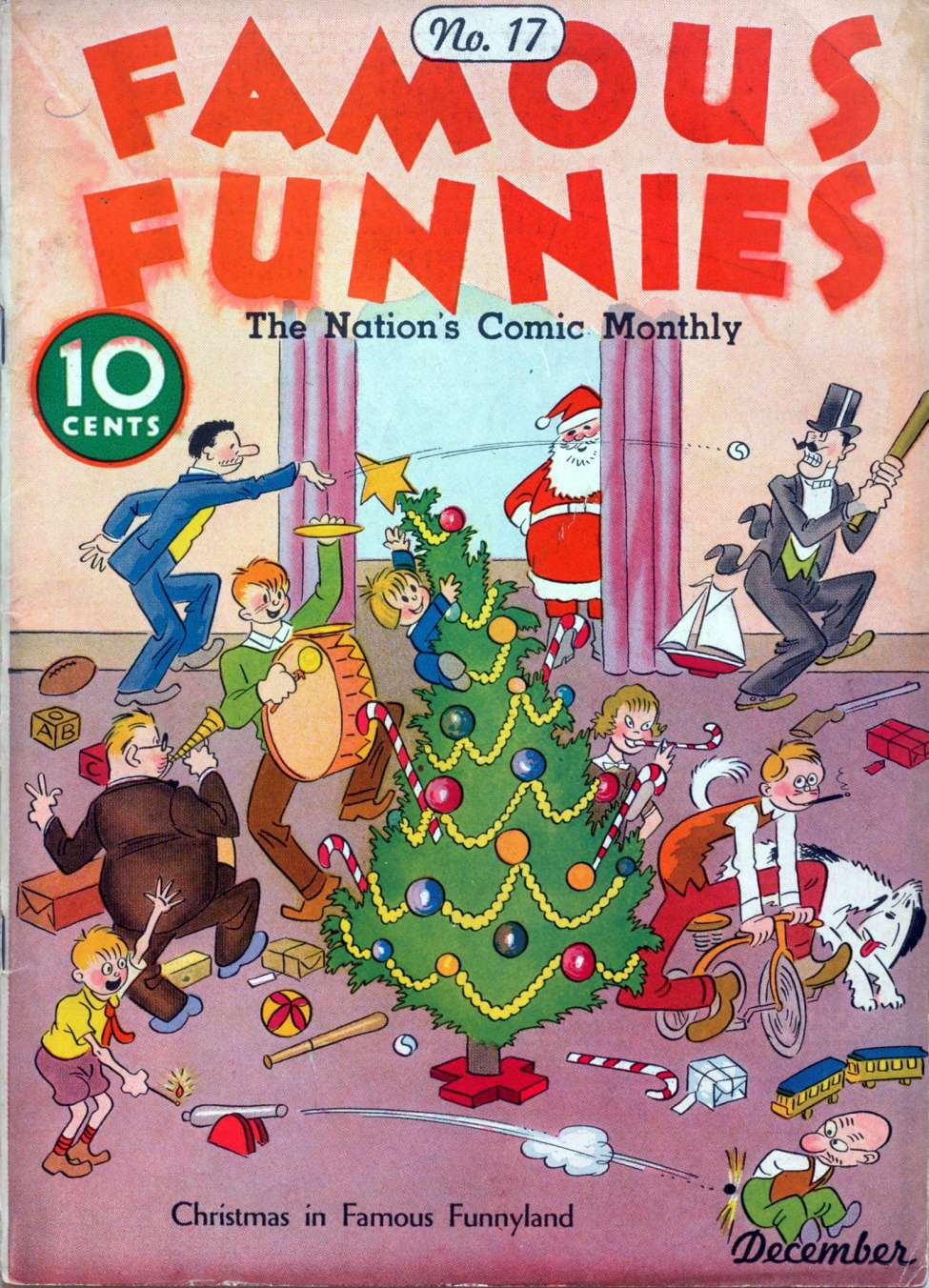 Comic Book Cover For Famous Funnies #17
