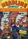 Cover For Headline Comics 4