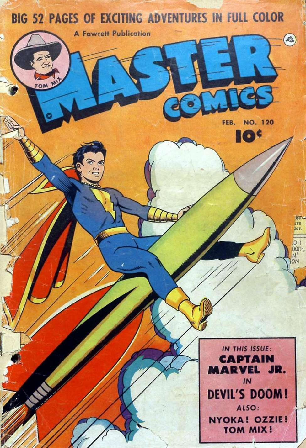 Comic Book Cover For Capt. Marvel Jnr Compilation Vol 19